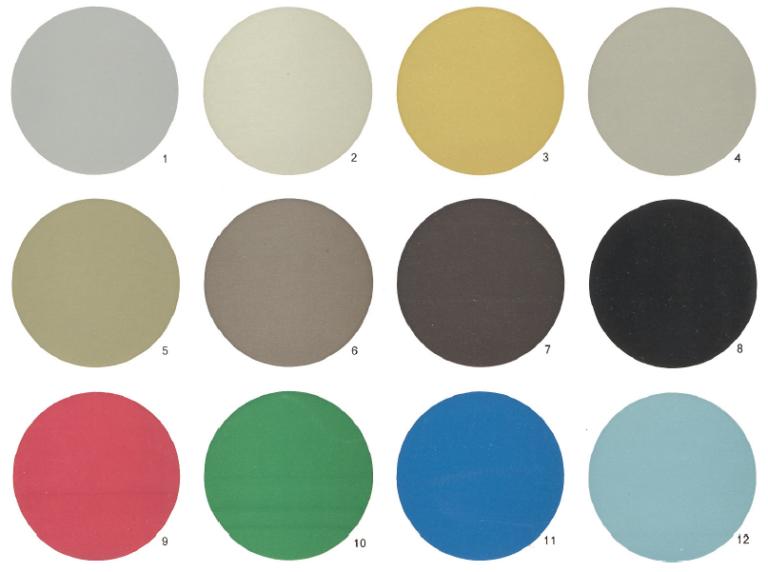 Anodisal kleuren
